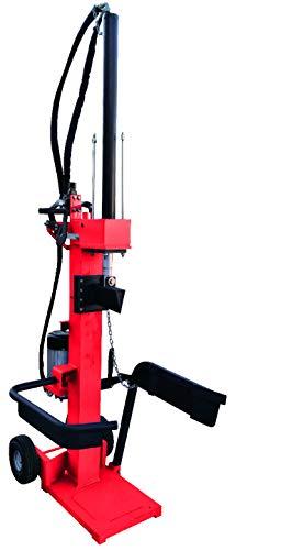 Brennholzspalter Holzspalter 400V 4300W E-Motor 9 Tonnen Spalter vertikal stehend EHS09225