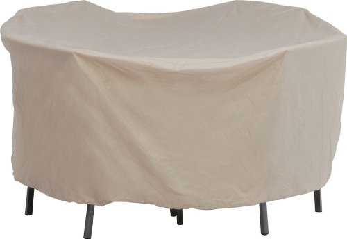 Stern 454940 Housse de Protection pour chaises/fauteuils Format Rond Nature Env. 215 x 90 cm