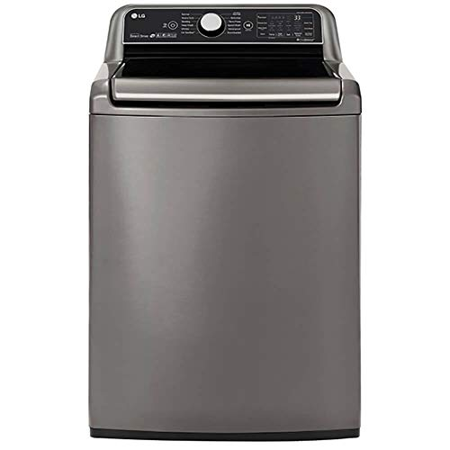 LG WT7800CV 5.5 cu.ft. Graphite Smart wi-fi Enabled Top Load Washer with TurboWash3D0153 Technology