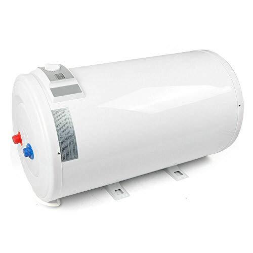 Berkalash - Scaldabagno elettrico, 80 l, indicatore di temperatura a LED, caldaia da 2000 Watt, verticale