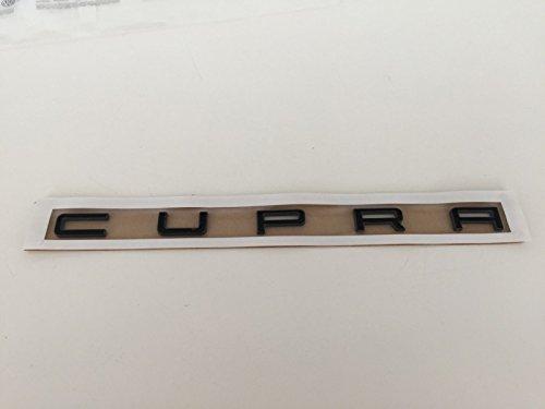 Original SEAT CUPRA Schriftzug schwarz Aufkleber Decal Emblem Logo badge