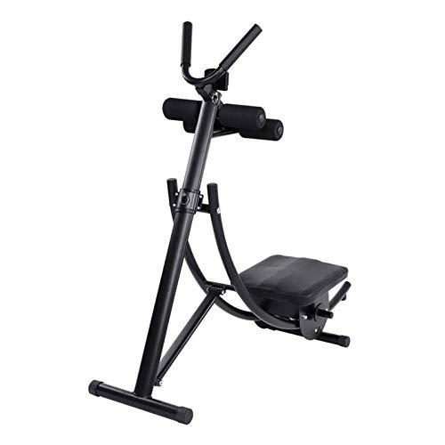 Plegable Ab Máquinas de ejercicios, Core & abdominal Gimnasio en casa Entrenadores abdominal entrenamiento de la máquina, todo el cuerpo ajustable Aparatos for hacer ejercicio W / monitor LCD for las