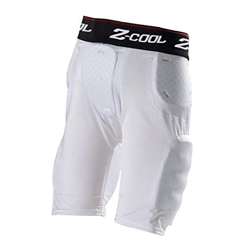 Gear Pro-Tec Z-Cool 5Pad/5Pkt Girdle Youth White Small