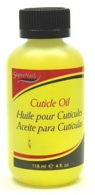 Super Nail Cuticle Oil 4 oz. (3-Pack) with Free Nail File by Super Nail