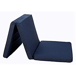 Altabebe AL5000 – Colchón para cuna de viaje, Azul marino, 120 x 60 x 4.5 cm