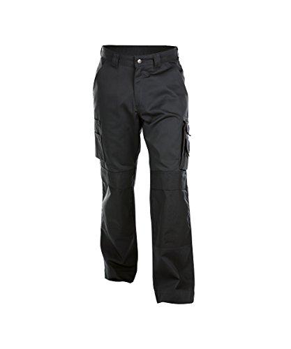 Dassy Unisex-Erwachsener Pantaloni Hose, Nero, 64
