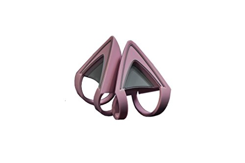 Razer Kitty Ears für Kraken Headsets: Kompatibel mit Kraken 2019, Kraken TE Headsets - Verstellbare Saiten - Wasserfeste Konstruktion - Quarz Pink