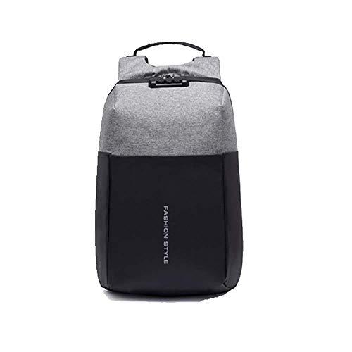 JJFJ Anti-Diefstal Zakelijke Laptop Rugzak, met USB Opladen Poort En Slot, Ultra-Dunne Waterdichte Rugzak, voor 15.6-Inch Laptop, Geschikt voor Mannen En Vrouwen