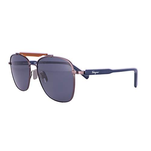 Gafas de sol FERRAGAMO SF 198 S 033 Mate Oscuro Gunmetal