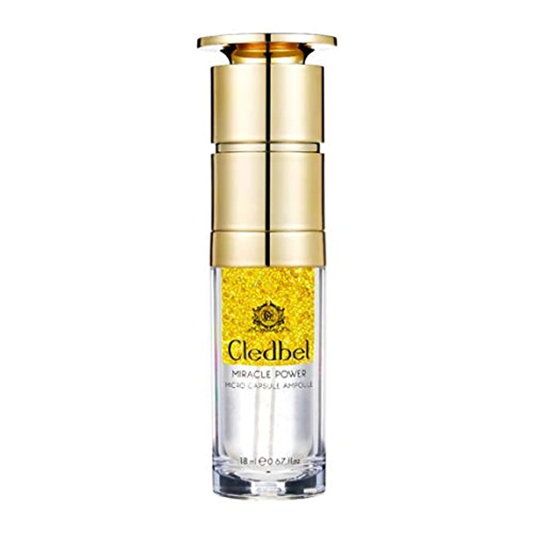 スライム建てる恐れ[cledbel] Miracle Power Micro Capsule Ampoule 18ml / ミラクルパワーマイクロカプセルアンプル 18ml [並行輸入品]