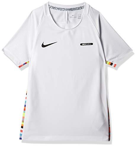 Nike Kinder Dry CR7 T-Shirt, White/Black, L