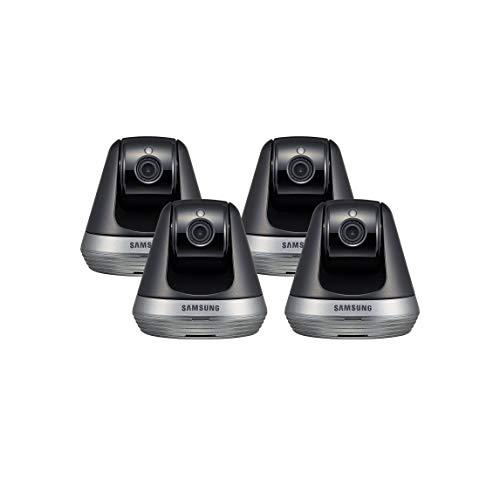 Samsung SNH-V6410PN SmartCam Pan/Tilt Full HD 1080p Wi-Fi IP Camera Bundle Quad Pack (Renewed)