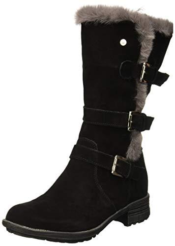 Hush Puppies Saluki Buckle Boot Bottes hautes Femme, Noir (Black 000) 41 EU