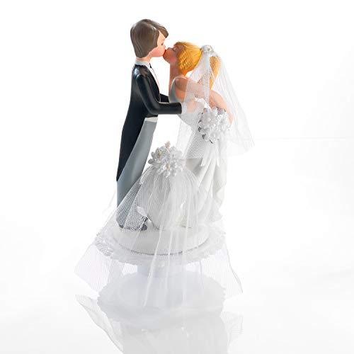 Günthart Küssendes Brautpaar aus Fein Porzellan (Basis zum Öffnen, Inhalt 2 Babys), 1er Pack (1 x 440 g)