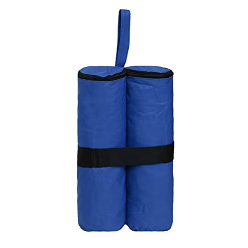 TINGCHAO Bolsas de Arena para toldo emergente Bolsas de Arena duraderas para piernas Bolsas de Arena para Carpa Toldos instantáneos para Exteriores Gazebo Beach,Azul
