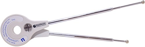 Goniómetro con lados extraíbles 65cm - 2x 180°