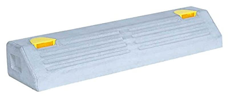 エクステントイタリック導体NSP-100B コンクリートアンカー付 パーキングブロック 高100×幅160×長600mm