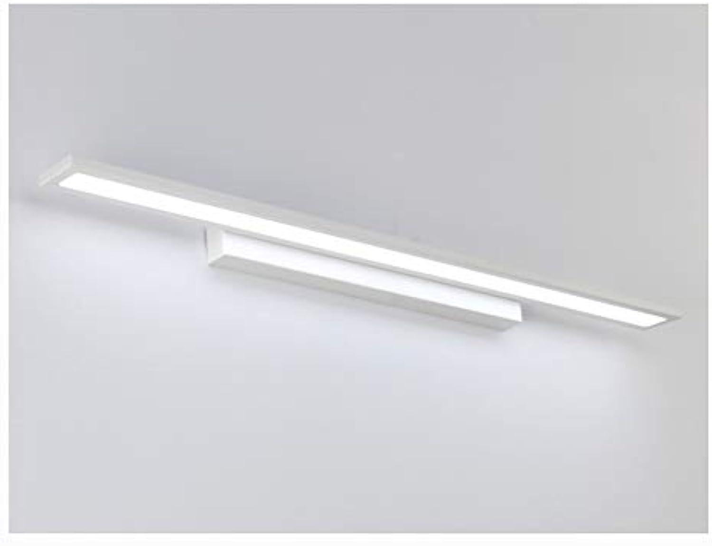 YU-H Lighting Led Spiegel Scheinwerfer, Modernes minimalistisches Badezimmer Lampe Bad Spiegel Scheinwerfer Wandleuchte Nordic Spiegel Scheinwerfer (Farbe   Weies Licht-40cm)