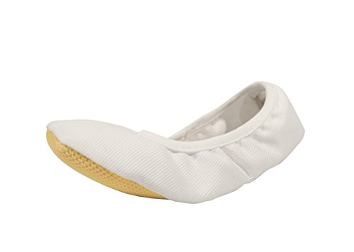 YUMP YUMPZ Gymnastics Shoes/Ballet Shoes for Girls and Boys in Size 22-35 White Size: 2