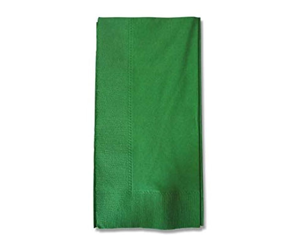 表示誇張立証するカラー2PLYナプキン イタリアングリーン 約45cm 50枚/62-1020-25