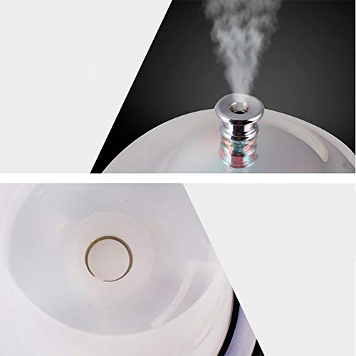 MMRLY Essentielle ÖlDiffusor, LED 7 Color Gradient Night Light Aromatherapy 3D Ultraschall Humidifier Therapeutic Machine