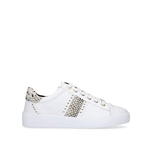 Carvela Jargon, Zapatillas Mujer, White, 35.5 EU