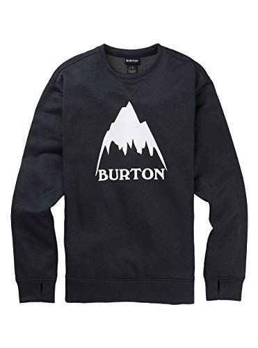 Burton Herren Oak Fleece Pullover, True Black Heather, L