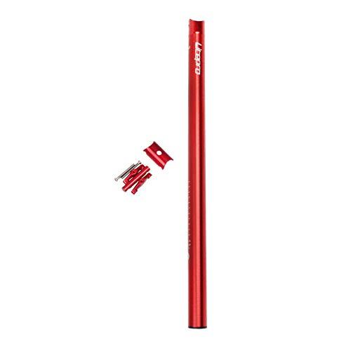 NON Poste de Sillín de Bicicleta Plegable Tija de Sillín de Aluminio para Brompton - Rojo