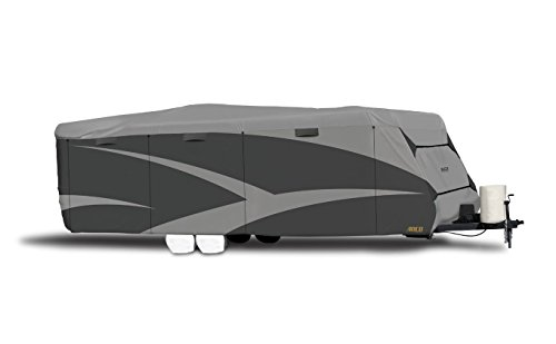ADCO 52245 Designer Series SFS Aqua Shed Travel Trailer RV Cover - 28'7 Inch - 31'6 Inch, Gray