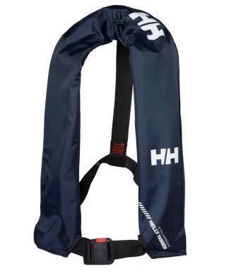 Helly Hansen Unisex - Chaleco Salvavidas Hinchable 34114, Unisex - Adultos, Color Azul Marino, tamaño Talla única