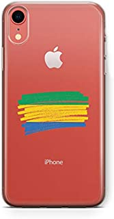 ZOKKO Cover for iPhone XR Gabon Flag Design