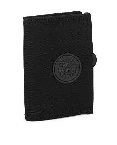 KIPLING Card Keeper, Tarjetero Tiempo Libre y Sportwear Mujer, Negro (Rich Black), Única