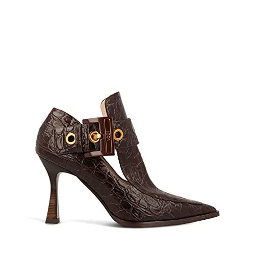 Lodi Damen Mobi-1 Schuhe zum Anziehen, Aligator Testa, 36 EU