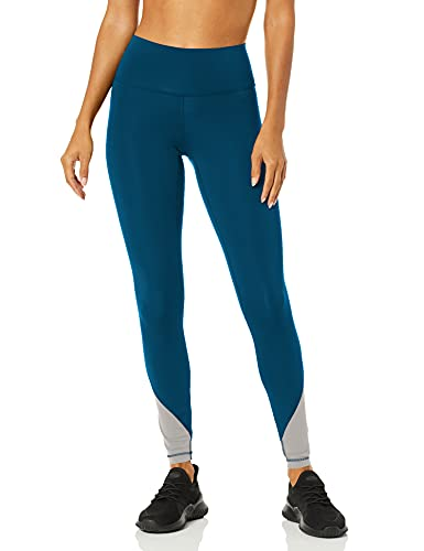 adidas Believe This High Rise Elevated Long Tights Aderente, Legend Marine, XXS Donna
