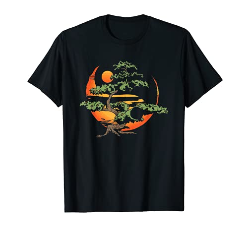 Bonsai Tree Japanese Buddhist Zen T-Shirt
