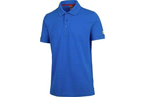 WÜRTH MODYF Apus ESD Poloshirt: Das Moderne und stylische Shirt für alle Handwerker ist in blau & XL erhältlich. Perfekt für die Arbeit und Freizeit!