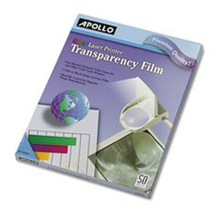 APOCG7070 Transparency Film,F/HP Color LaserJet Series,50/BX,8-1/2x11