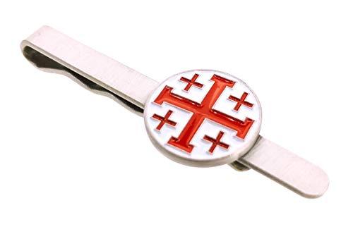 Pasador de Corbata Cruz de los Santos Lugares de Jerusalén | Pisa...