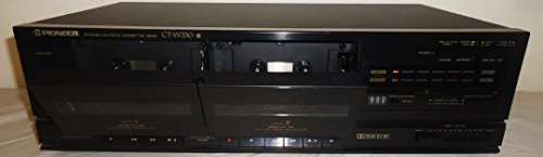 Pioneer CT-W330 Recordable Stereo Dual Cassette Tape Deck -With Deck II Control