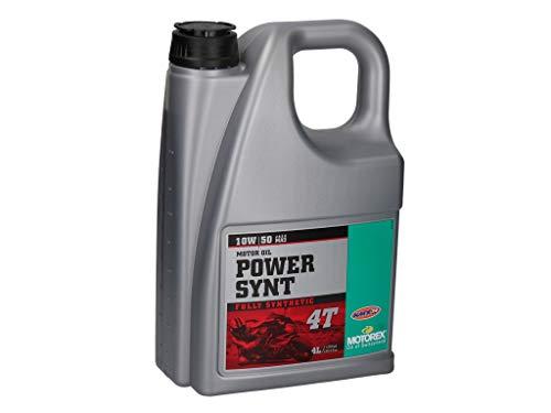 Motorex Power Synt 4T 10W50 Vollsynthetisches 4-Takt Motorenöl 4 Liter