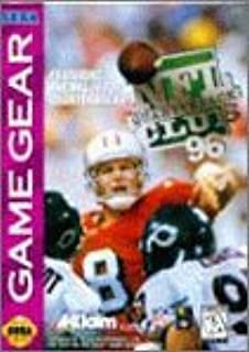 NFL Quarterback Club '96 - Sega Game Gear