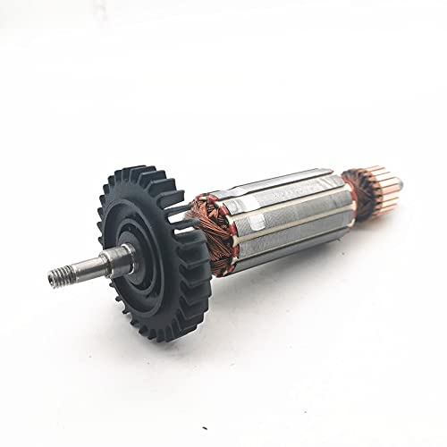 ndliulei Reemplazo de Rotor de Armadura en ángulo para MAKITA GA4030 GA5030 GA4530 GA5034 GA4534 GA4031 PJ7000 GA4030R GA4034 Accesorios para Herramientas eléctricas
