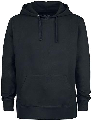 Black Premium by EMP Bodies Homme Sweat-Shirt à Capuche Noir L