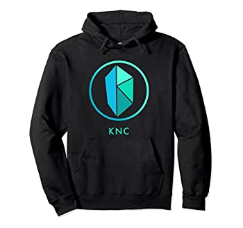 KYBER Network Crypto DEFI Decentralized Finance KNC Token Pullover Hoodie