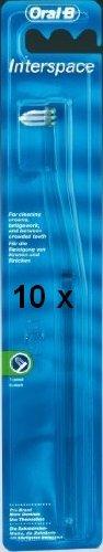 10 Oral-B Interspace Bürsten Interdentalbürsten