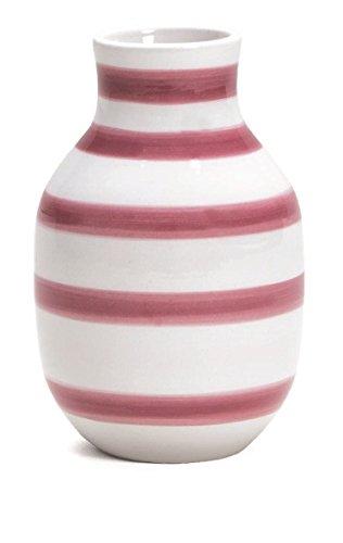 Kähler - Omaggio - Vase / Blumenvase - rose / rosa - Höhe 12,5 cm