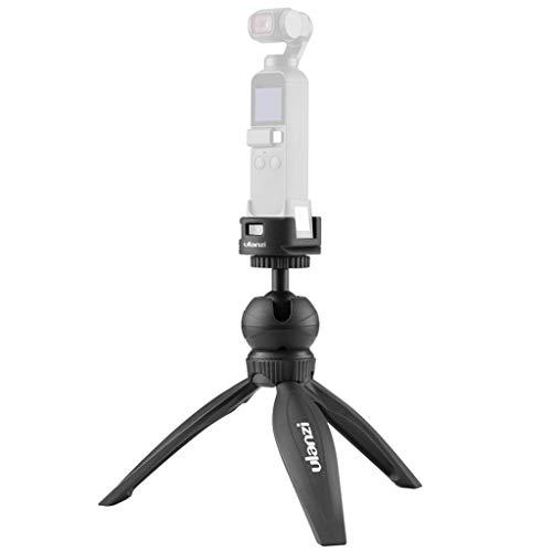 Wokee - Soporte para WiFi y mini trípode con empuñadura para cámaras de sistema compacto, color negro negro B