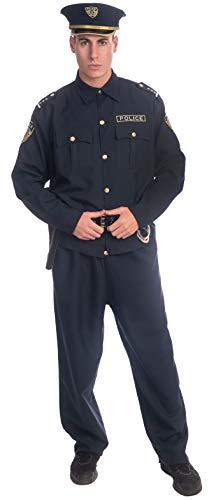 Dress Up America Kostümset für erwachsene Polizeibeamte
