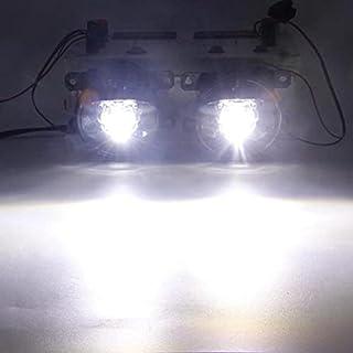 Car Light Assembly - Fog Light Assembly 30W 8000LM Car Driver + Passenger LED Lens Fog Lamp DRL H11 For Renegade BU 2015 2...