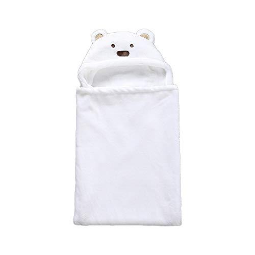 BAIBY Mantas Envolventes con Capucha para Bebé Toallas de Baño Mantas Envolventes para Niños Mantas Envolventes Infantil Manta Bebé Mantas para Niños Recién Nacidos Material Suave Seguro